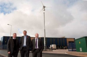 Ian Moore: Kingspan Renewables: Commercial Sales Manager; David Hunt: Eco Environments; and Dave Armstrong: Armstrong Properties