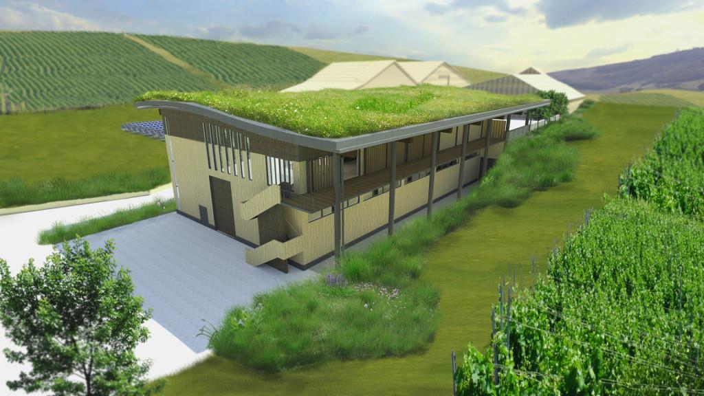 Architect's impression of Rathfinny Estate